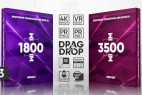 PR预设模板-5000+扭曲模糊冲击移动切割视频转场调色特效工具包V3