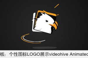 AE模板:个性图标LOGO展示 VideoHive Animated Logo
