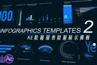 AE模板:数据报表数据展示 VideoHive Infographics Template 2