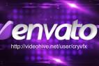 AE模板-闪光灯Logo文字 VideoHive 3D Light Elegant Logo