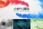 AE模板-彩色水墨烟雾LOGO展示 VideoHive Colorful Smoke Reveal