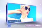 AE模板-小清新3D相册展示 Videohive Fashion Trendz