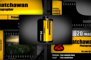 AE模板-电影胶片图片展示 VideoHive Film slideshow