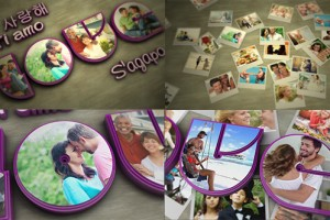 AE模板:小清新浪漫爱情 VideoHive Love 6770573