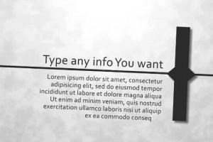 AE模板:26个英文字母的文字排版设计 Typographic Alphabet
