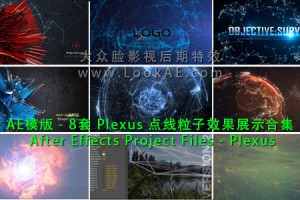 AE模版-8套Plexus点线粒子效果展示合集 After Effects Project Files-Plexus