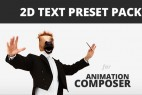 AE超强文字预设包(附插件和教程)Videohive 2D Text Preset Pack for Animation Composer Plug-in