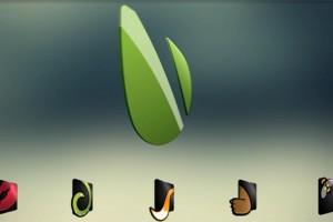 AE模版:三维旋转LOGO标志 VideoHive Logo 3d rotation kit