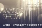 AE模板-粒子帘幕背景婚礼颁奖片头 V2.5 Awards Show