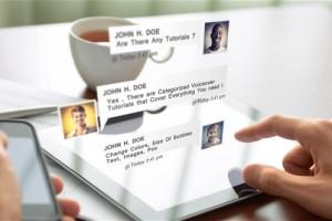 AE模版:手机短信对话弹窗效果 Chat Messages Pack