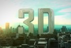 AE模版:三维城市3D立体LOGO标志片头展示 Massive City Logo