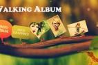 AE模版:大自然蚂蚁搬家图文效果展示 Walking Album