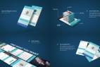 AE模板:手机APP应用程序展示模板包 App Presentation Mockup Kit