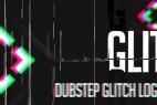 AE模板:信号干扰抖动破损LOGO标志片头 Dubstep Glitch Logo