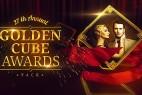 AE模版:三维立体金色立方字幕图文展示活动颁奖典礼包装 Golden Cube - Awards Pack