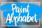 AE模板:油墨字母手写绘制效果 Oil Paint Alphabet