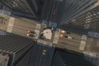 AE模板:鸟瞰穿过云层城市楼房俯视街道Logo展示 Zoom From Sky