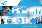 AE模板:时尚简洁企业公司宣传片头栏目包装 Clean Corporate