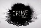 AE模版:中国风水墨散开标题文字切换展示 Crime Titles