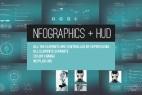 AE模板:高科技HUD信息图界面元素 Infographics + HUD 12598101