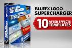 AE模版:10种 LOGO 标志演绎动画特效片头 BlueFX Logo Supercharger Pack - 1