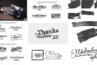 AE模板:70种文字标题排版LOGO标志动画效果  4K分辨率