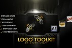 AE模板:高科技工业金属质感 LOGO 标志片头展示