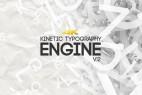 AE模板:点线链接多边形文字标题排版动画 Kinetic Typography Engine V2 4K