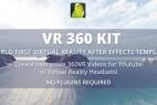 AE模板:360度VR全景视频效果包 VR 360 KIT