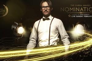 AE模板:大气奢华金色线条粒子晚会活动颁奖典礼栏目包装 Cinema Awards Promo