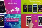 AE模板:时尚炫彩手机APP应用图文介绍包装 Colorful App Promo