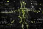 AE模板:500个高科技HUD医疗人体生物化学地图UI界面动画元素