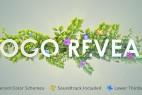 AE模板:植物生长花朵盛开 LOGO 展示片头 Nature Logo Reveal