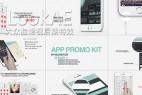 AE模板:手指触控手机APP应用界面宣传介绍展示动画