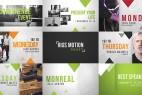 AE模板:简洁漂亮活动宣传推广介绍栏目包装  Event Promo