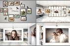 AE模板:室内悬挂相框相册图片展示 Room Photo Gallery