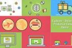 AE模板-创意简洁公司企业商品服务介绍包装MG动画片头 Explainer Video Production Opener