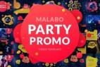 AE模板:动感时尚活动聚会派对包装展示 Malabo / Party Promo