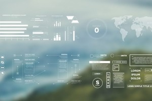 AE模板-简洁扁平化数据图表柱状图饼状图百分比信息动画元素 Simple Infographics