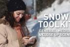 AE模板-真实雪花下雪飘雪场景制作工具包 Snow Toolkit