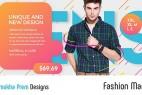 AE模板:现代时尚服装商品促销推广介绍 Fashion Market