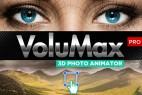 AE模板-风景人像照片转3D效果摄像机推拉旋转景深动画 VoluMax Pro V4.1