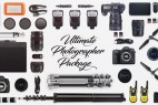 AE模板-摄影师单反专业拍摄照片展示包装 Ultimate Photographer Package