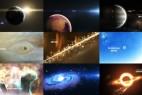 AE模板-宇宙银河太阳系三维地球星球8K动画两套 Solar System 3 ( The Observable Universe ) 8K