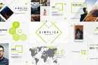 AE模板:现代简洁公司企业商务展示介绍宣传包装 Simplica // Business Template