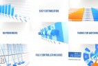 AE模板:公司企业商务三维数据报表动画 3D Graph Pack No Prerender