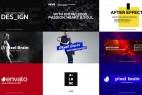AE模板:31个现代流行文字标题排版包装动画 Titles
