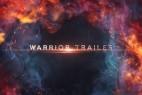 AE模板-大气文字粒子背景电影游戏视频预告宣传片头 Warrior Trailer Titles