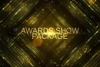 AE模板:高端华丽金色粒子年会活动颁奖典礼栏目包装片头 Awards Show Pack