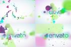AE模板-漂亮粒子LOGO标志展示片头 Minimal Particles Logo